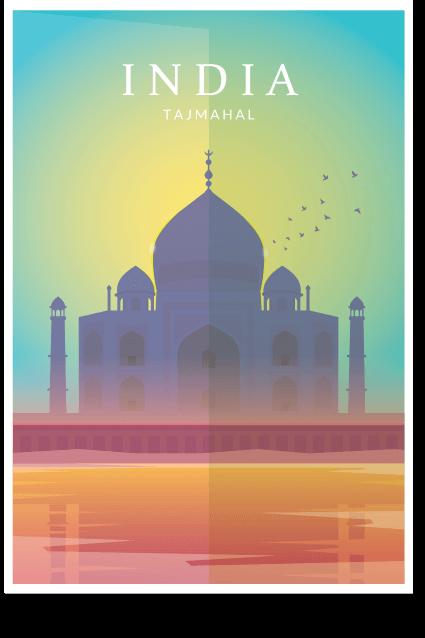 Taj Mahal Pride of India - Wall Art, Tajamahal Wall Art