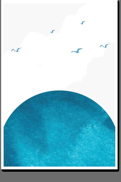 Capri Sun - Minimal Wall Art, Sky Poster, Sun Art