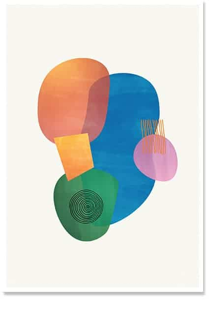 Intersect - Wall Art Poster