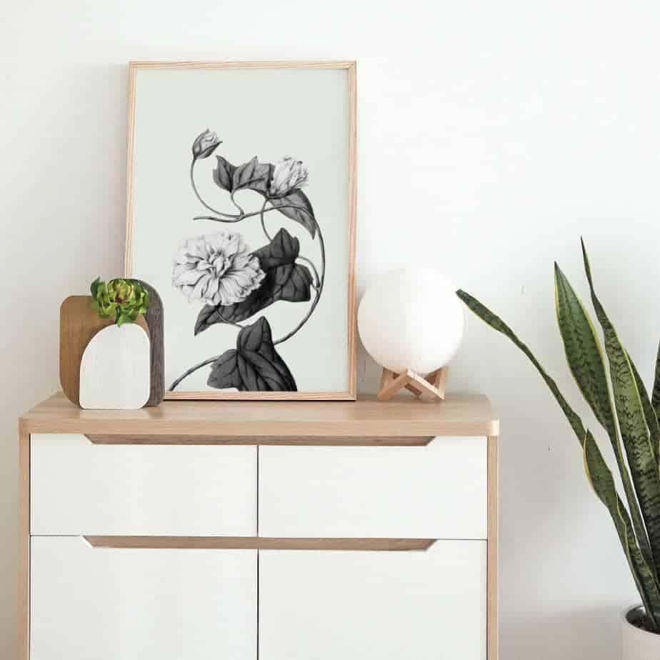floral home decor art