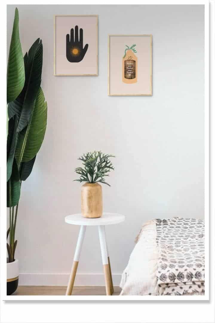 positive peace home decor inspiration