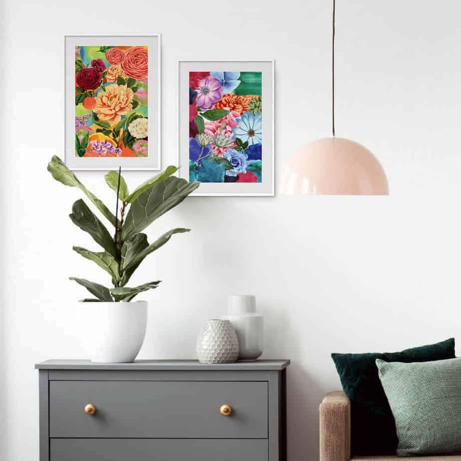 floral plant home decor
