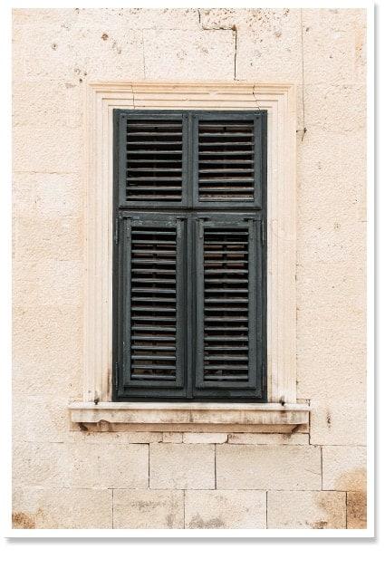 window art print bohemian