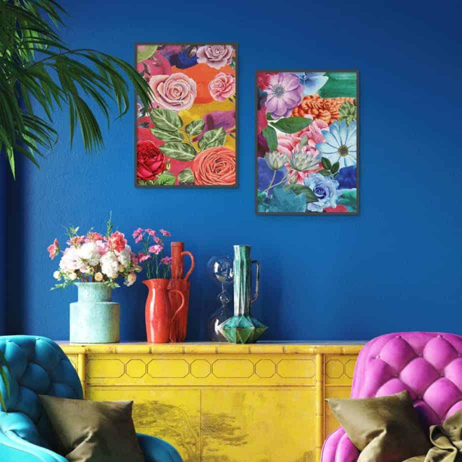 botanical interior design decor inspiration