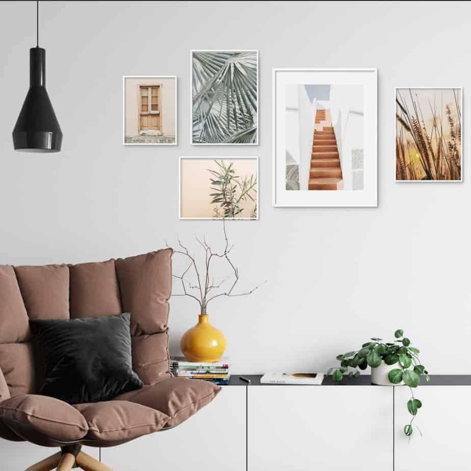 interior design inspiration wall