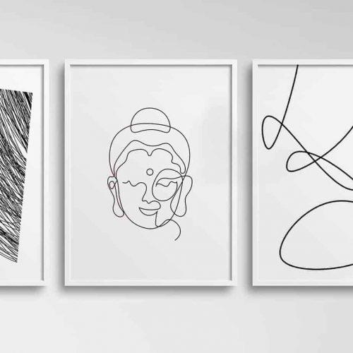 insta-buddha-wall-art-set