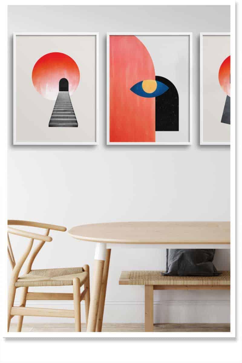 Abtract Home Decor Interior Design