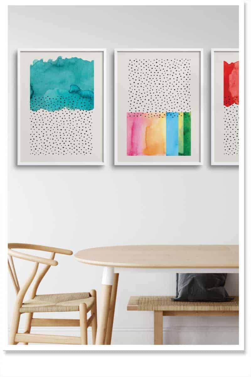 Framed Wall Art sets For interior decor