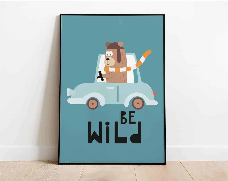 be wild kids room decor