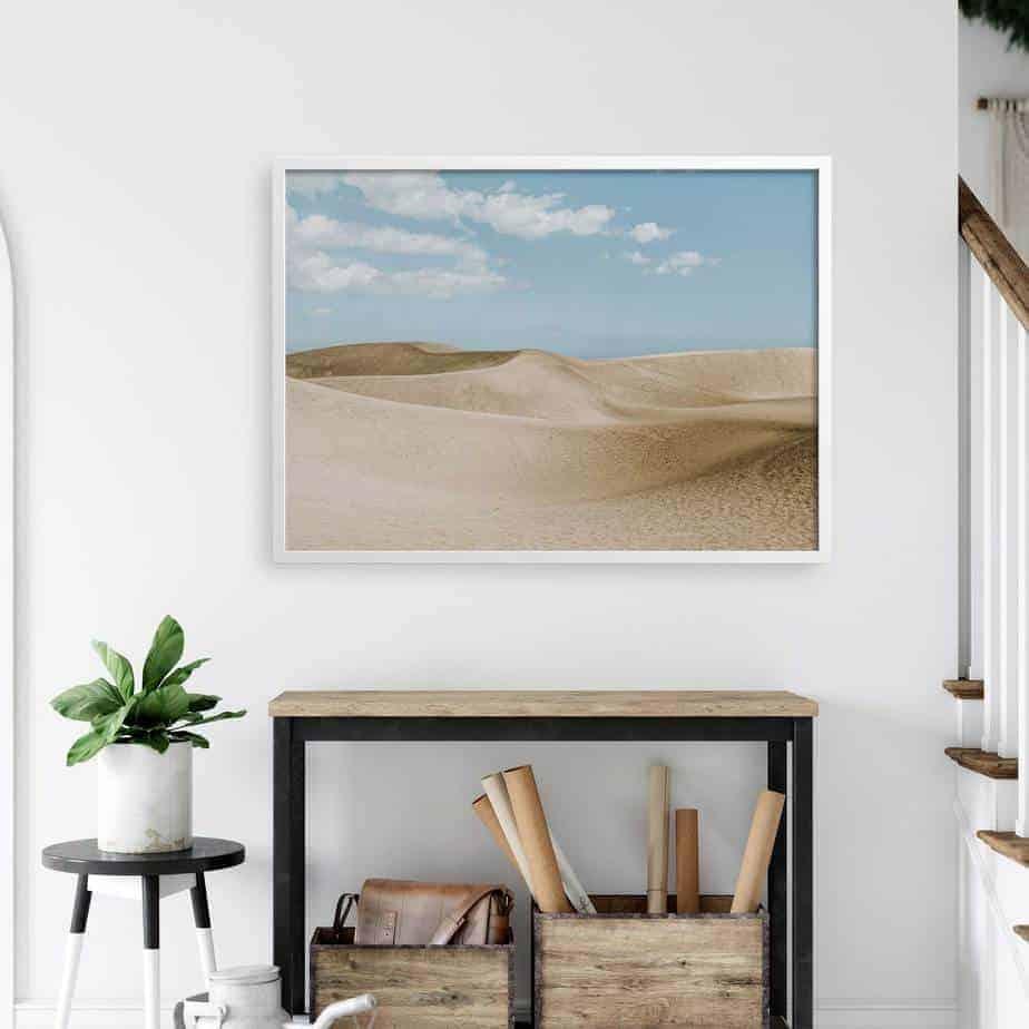 desert room decor