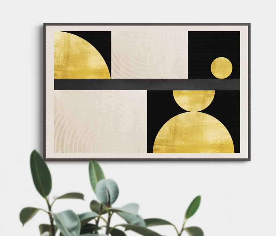 geometric wallart