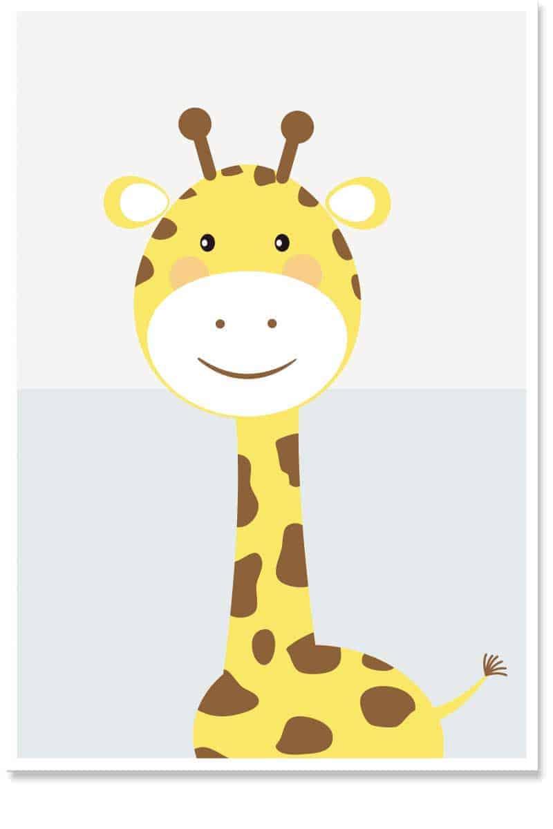 giraffe kids room decor