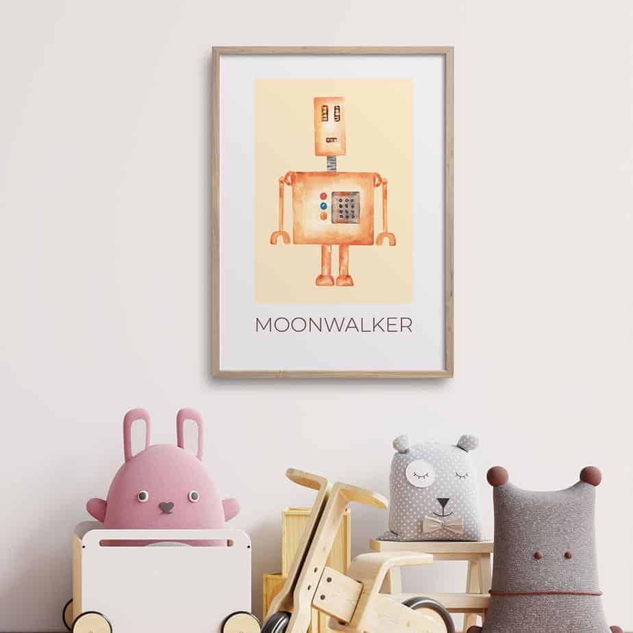 moonwalker artwork