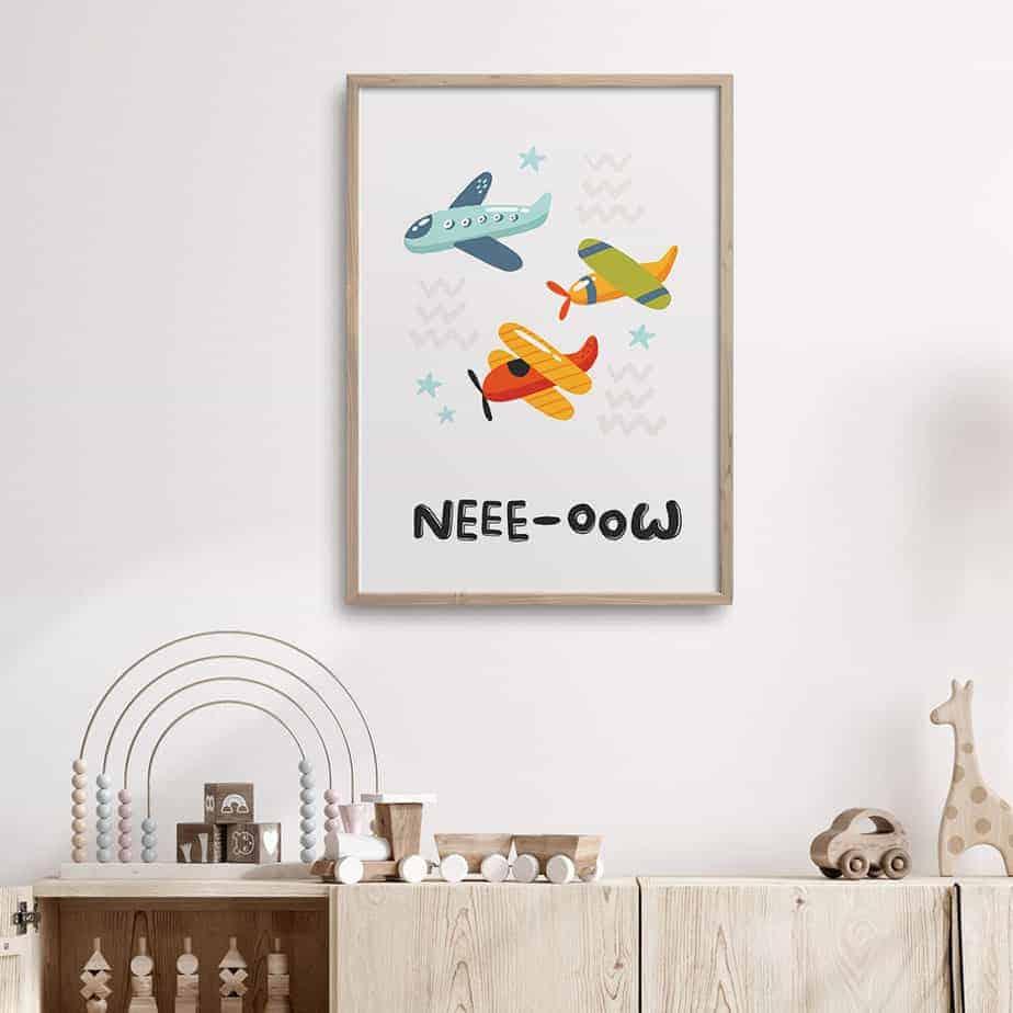 nee oow kids room artwork