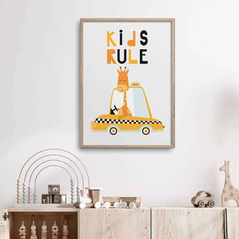 kids rule artwork
