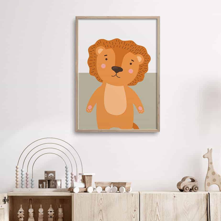 cub, the cutie wallart