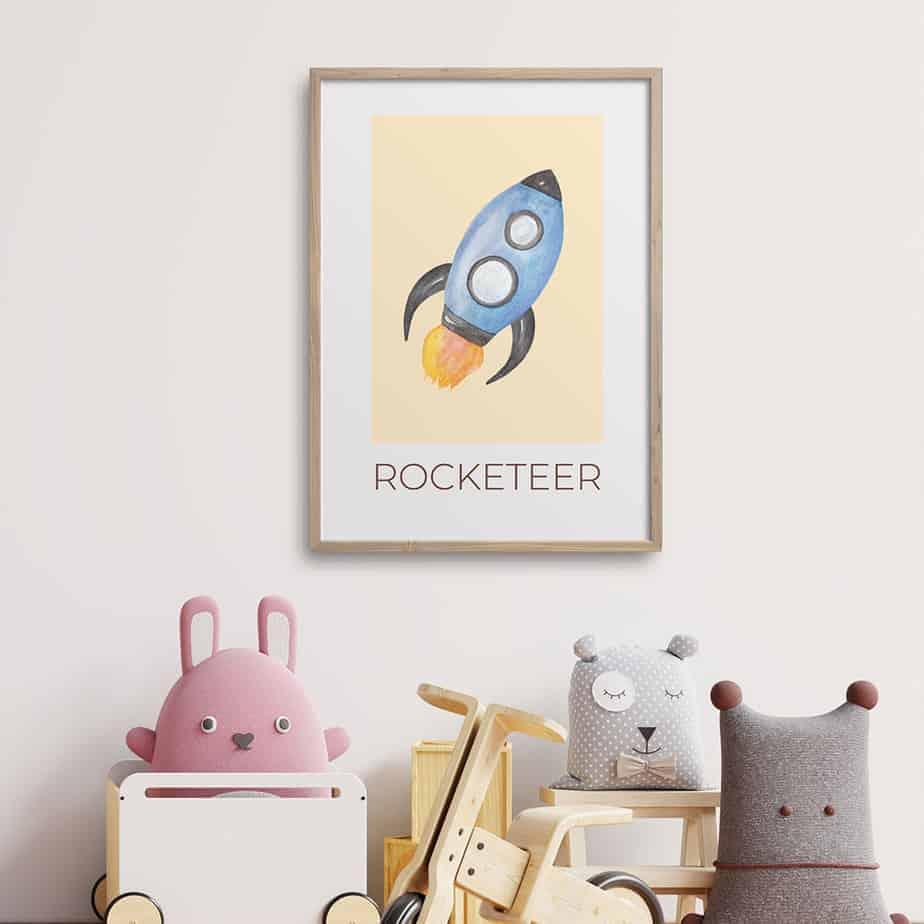 rocketeer artwork