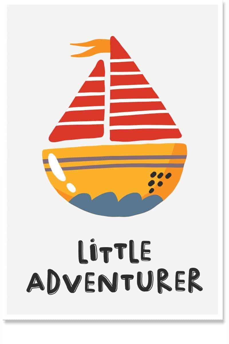 little adventurer kids room decor