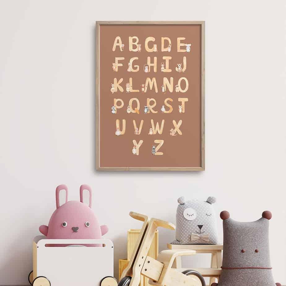 alphabets kids artwork