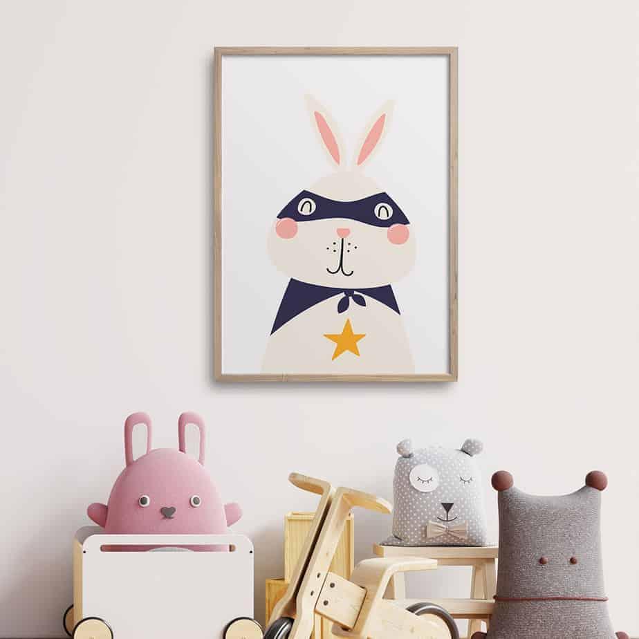 super bunny room decor