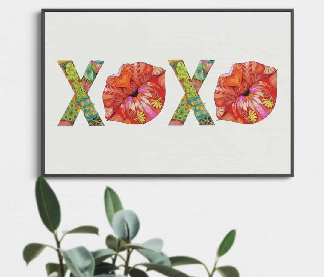 xoxo artwork