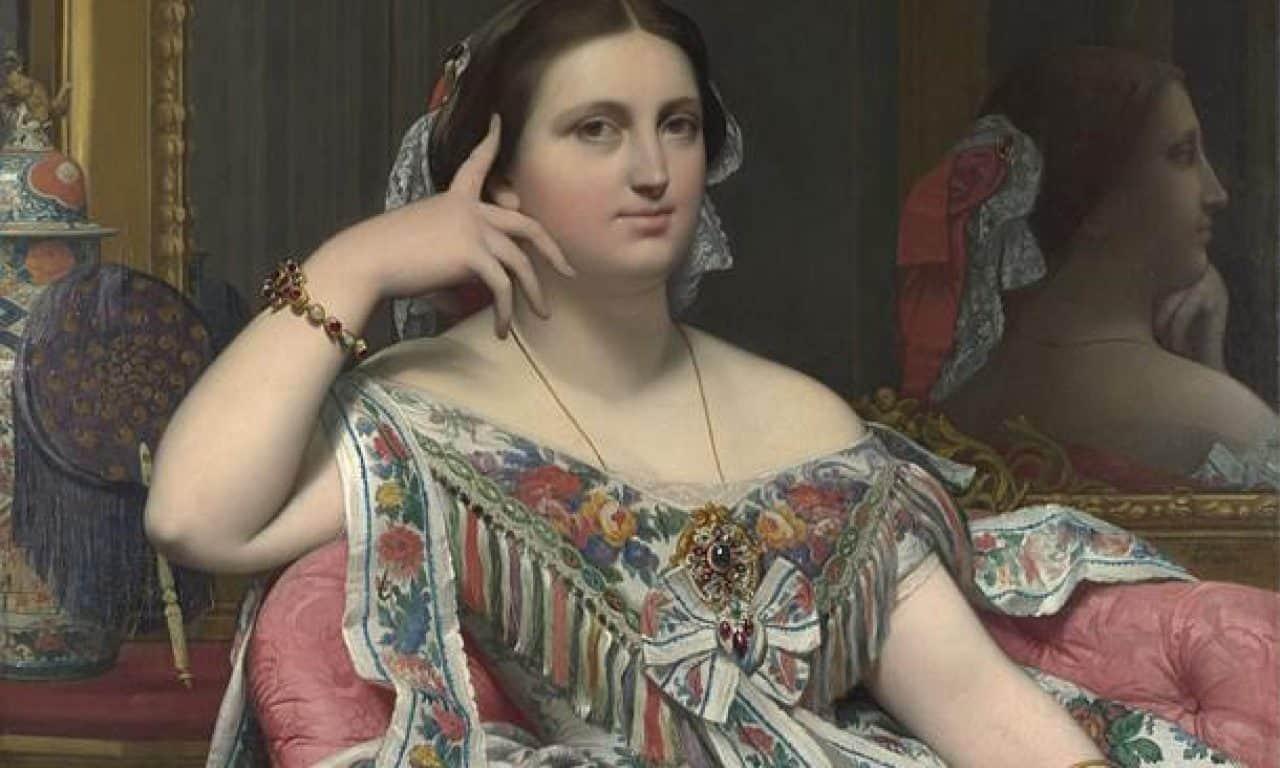 Madame Moitessiertheme of women in art
