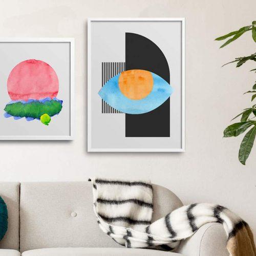contrasts artwork