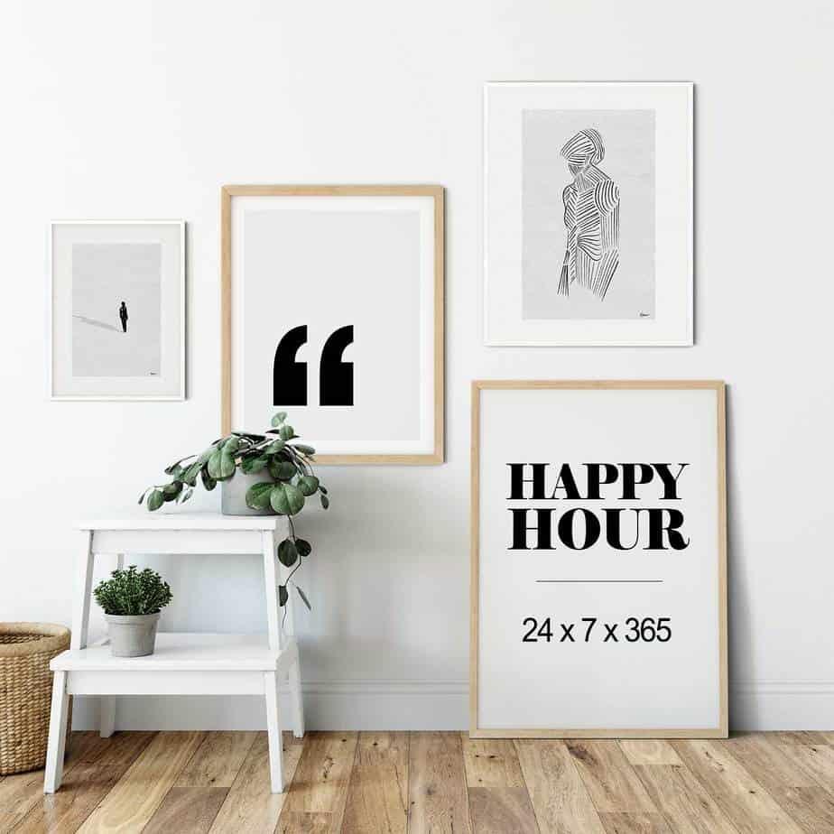 happy hour room decor