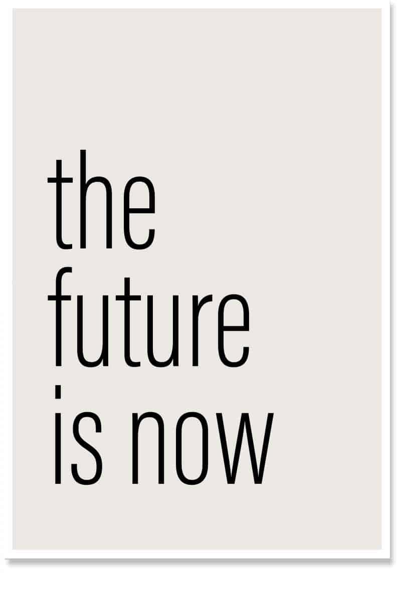 the future is wordart